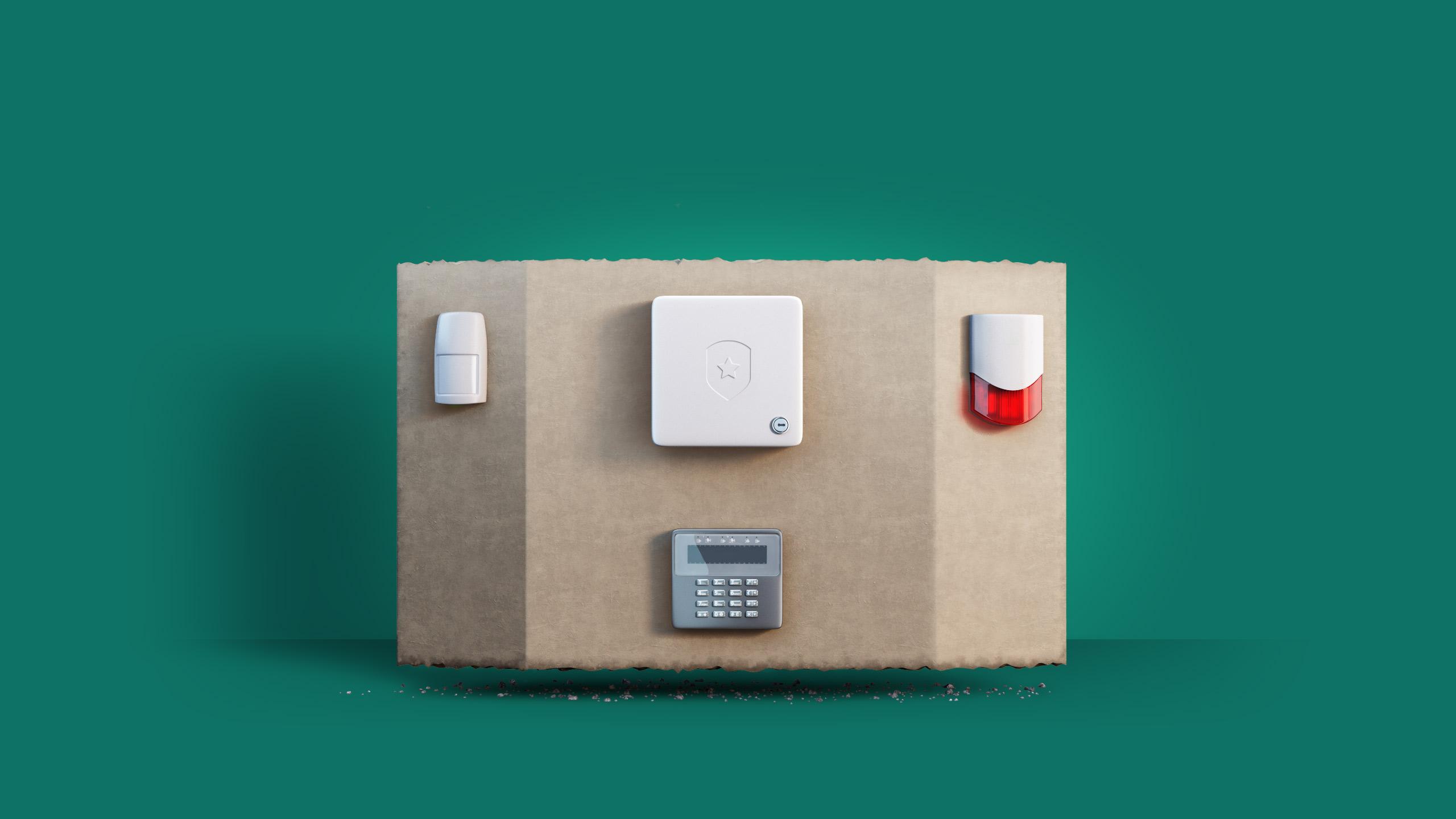 smart home alarm