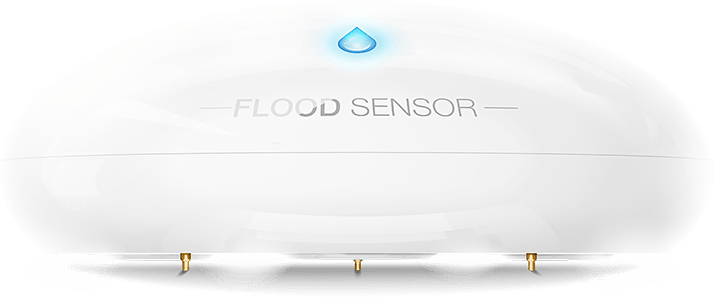 Flood sensor color blanco