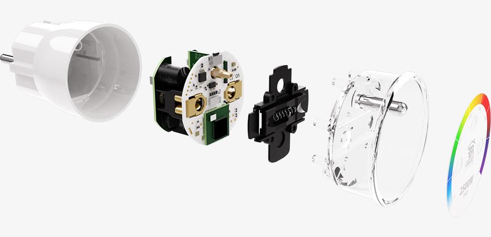 Wall Plug - Magnetický kontakt – senzor na garážová vrata