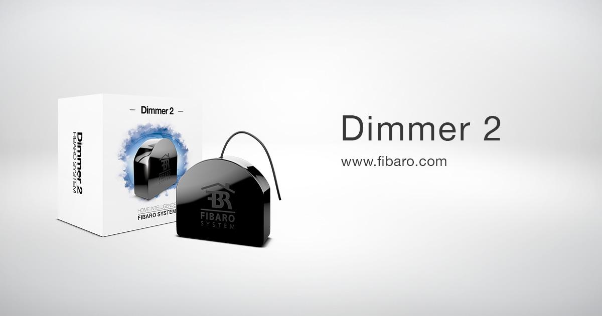 Drahtloser Dimmer Schalter - Dimmer 2   FIBARO