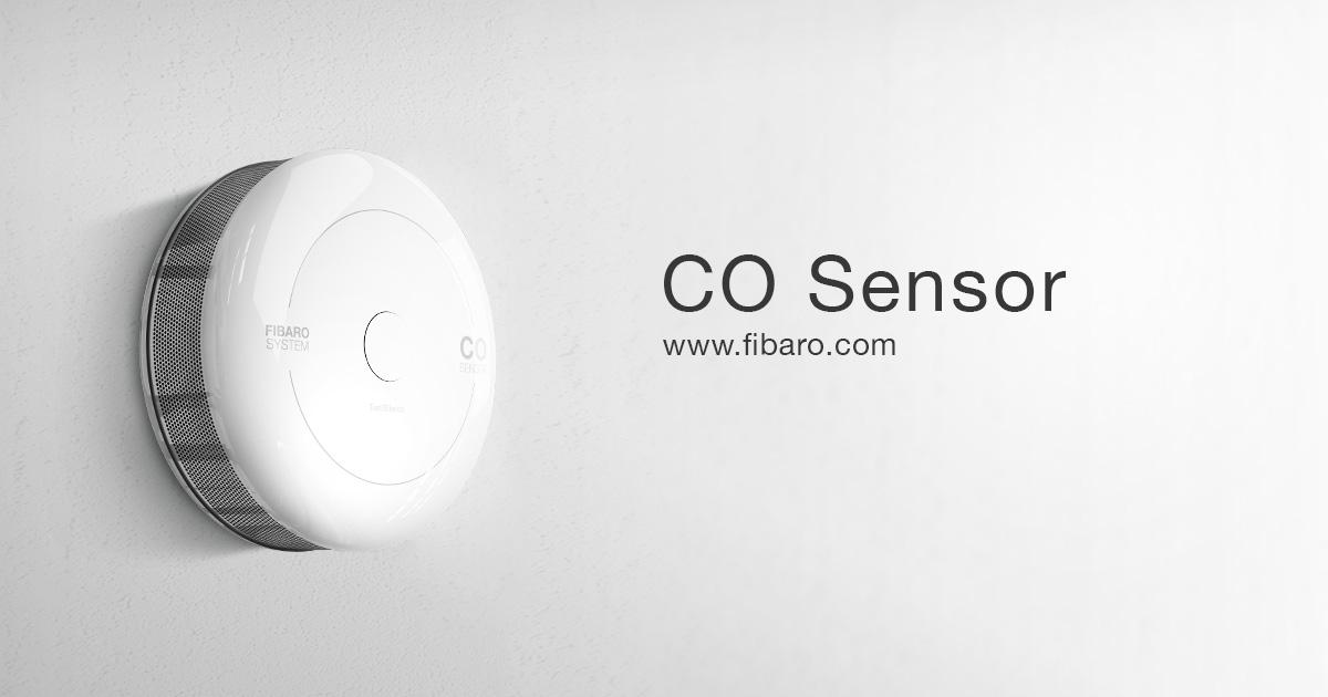 Co Sensor Drahtloser Kohlenmonoxidsensor Fibaro