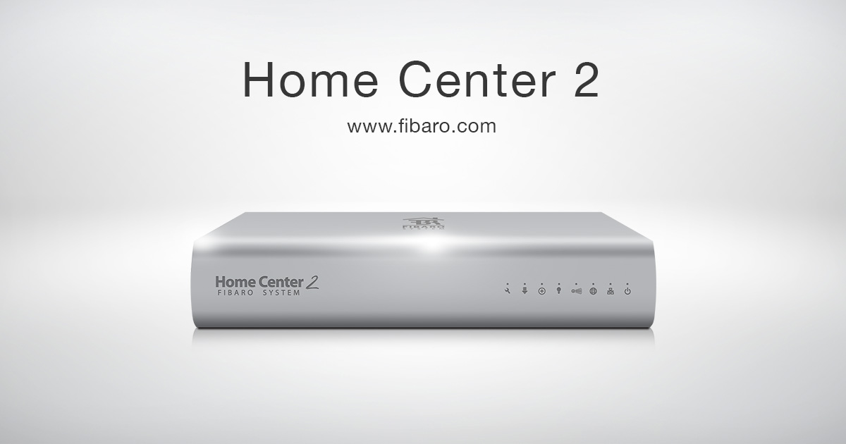 Home Center 2 Smart Home Hub Z Wave Fibaro