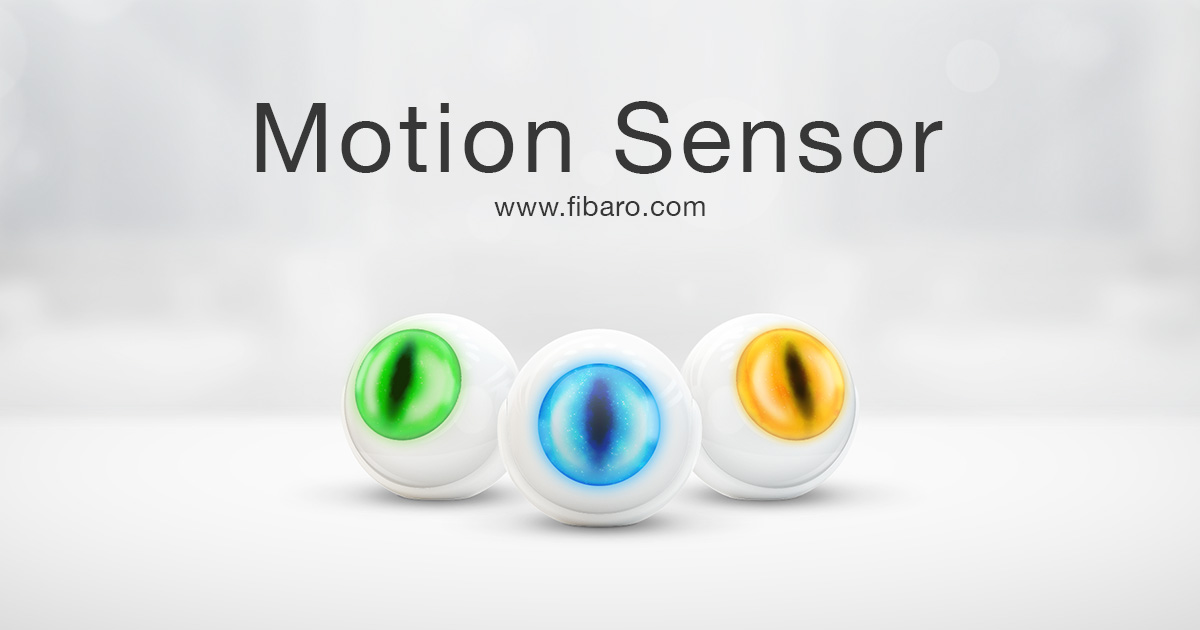 Motion Sensor Z Wave And Homekit Motion Detector Fibaro