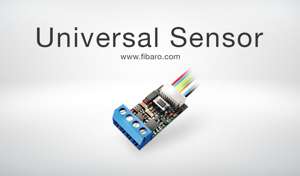 universal sensor z wave technology connection fibaro
