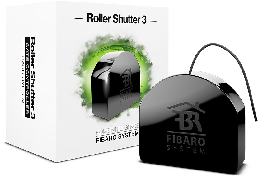 Roller Shutter 3 Motorized Shades And Blinds Fibaro
