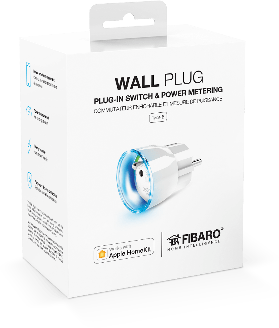 Wall Plug - Smart switch with Power metering | FIBARO