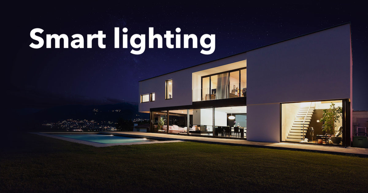 Smart Lighting Examples Home