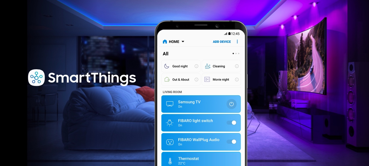 Samsung SmartThings | FIBARO