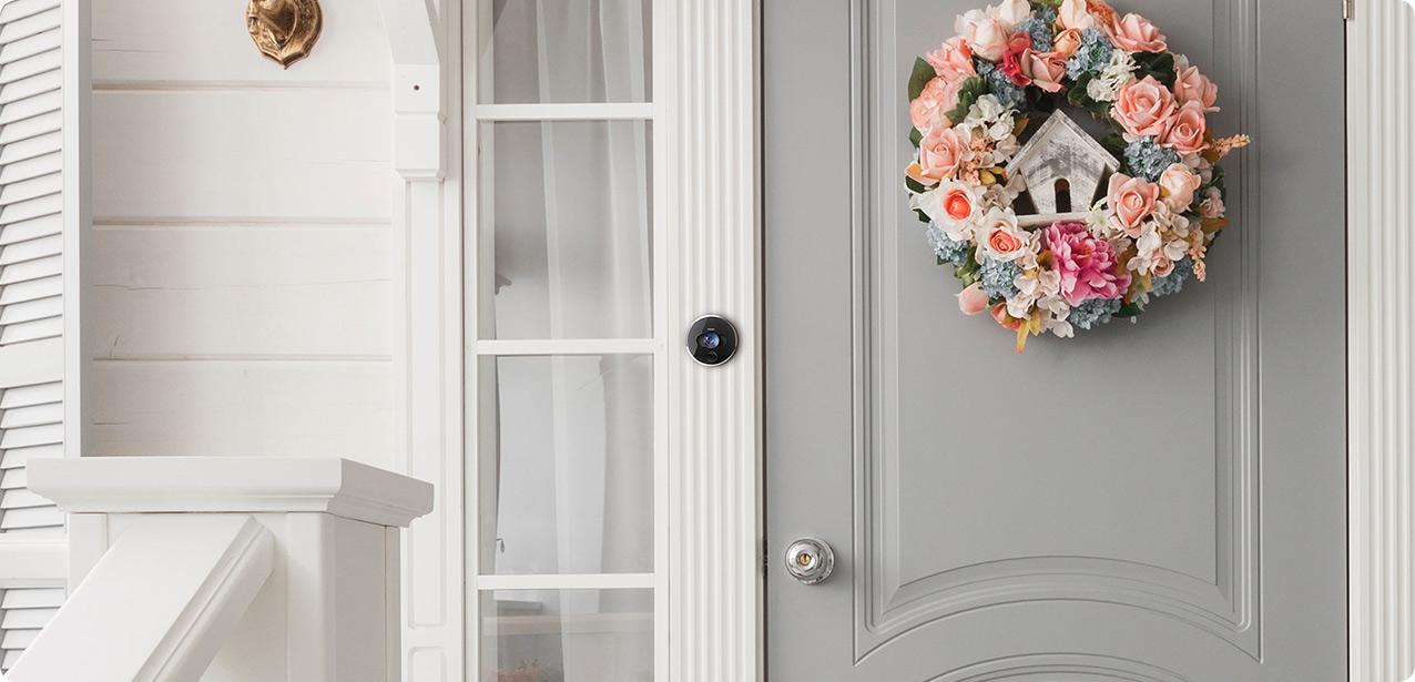 interphone accès à la porte