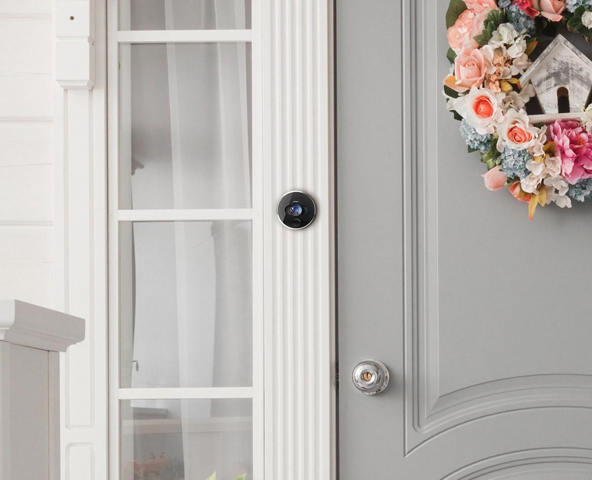 Intercom accès à la porte