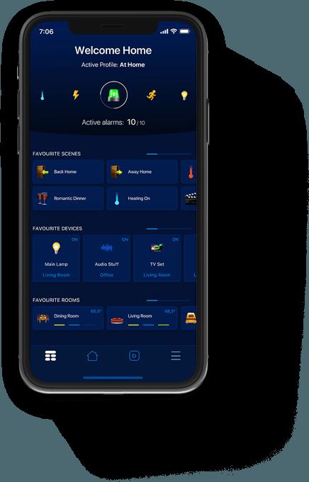 iOS App domotique