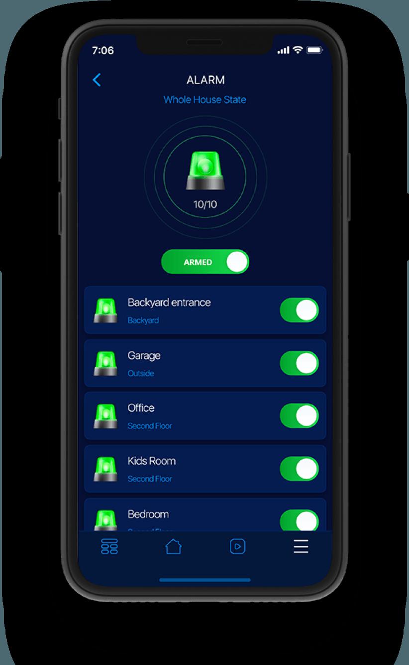 Εξυπνο σπίτι app