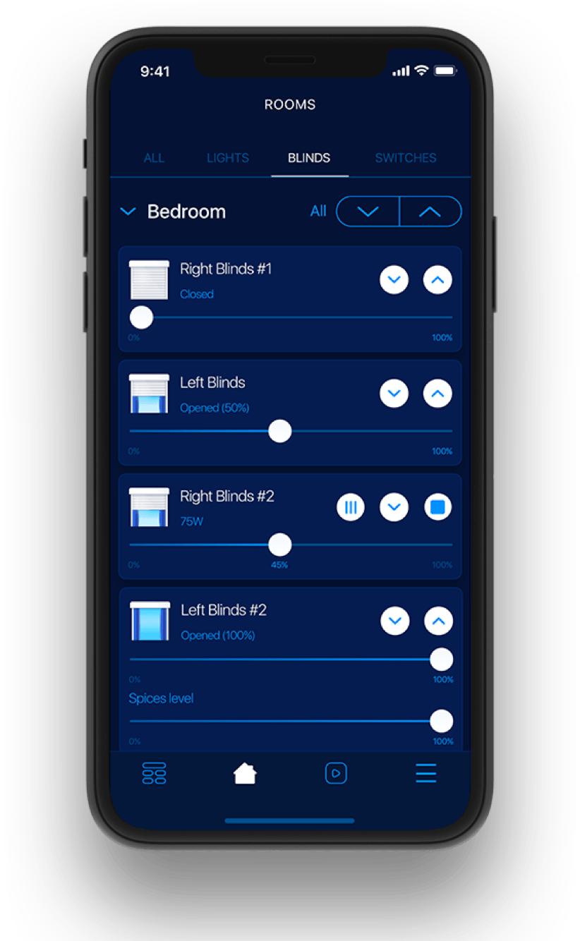 Application for smart home