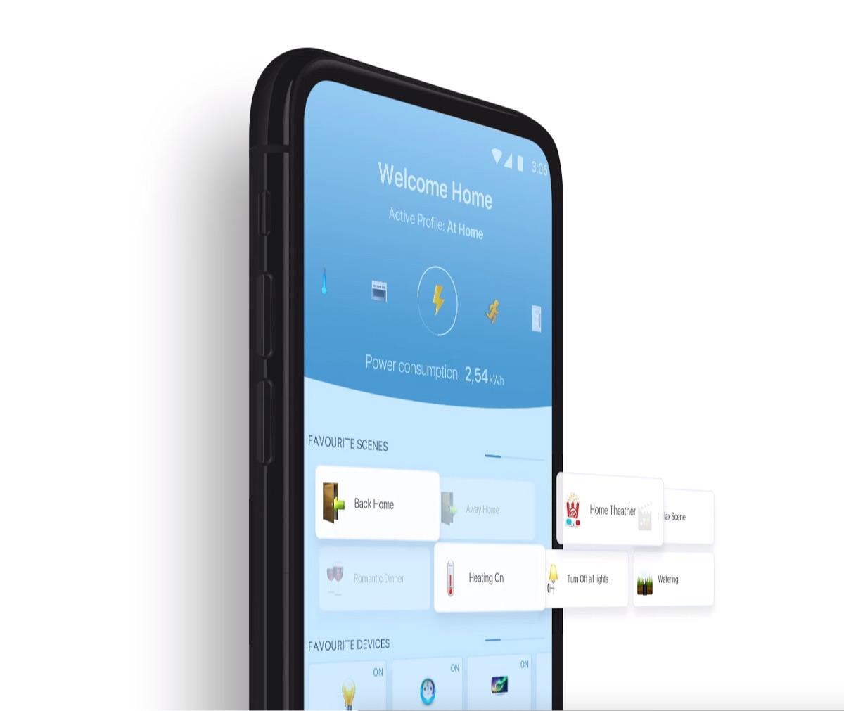 smart home mobile application