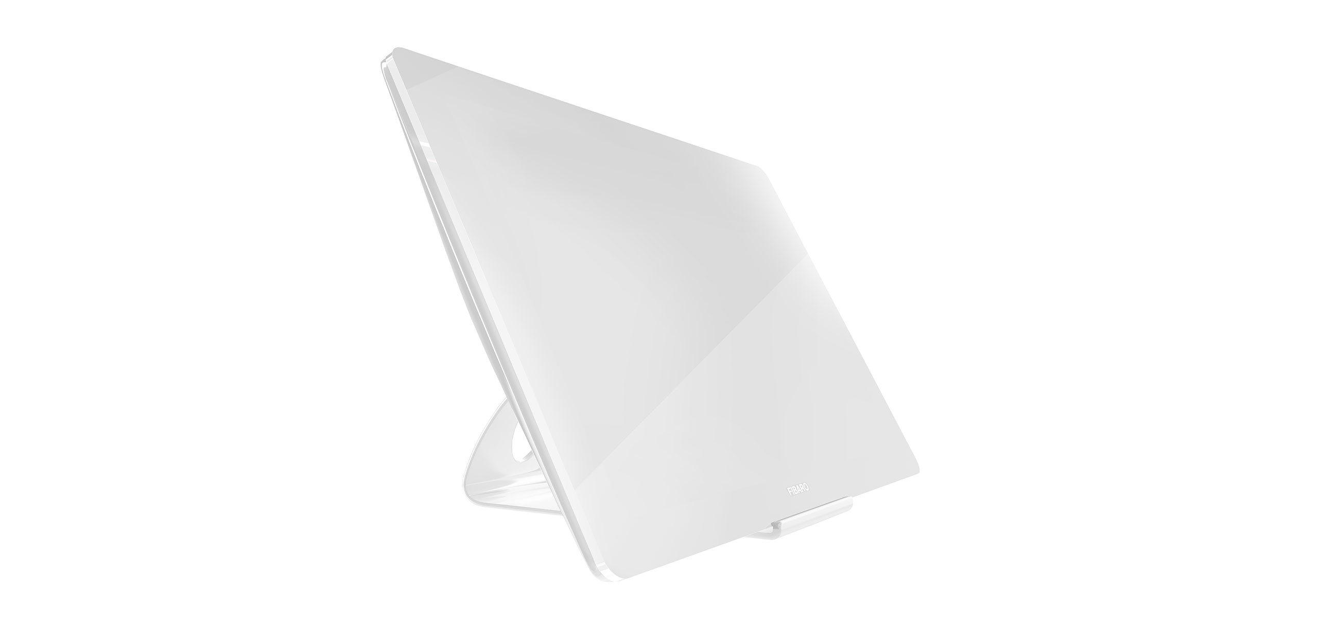 white smart home remote