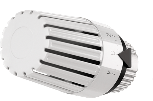 Typical thermostatic head