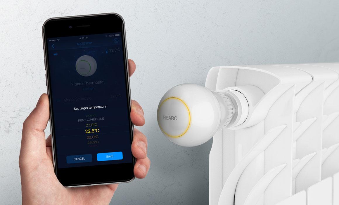 głowica termostatyczna inteligentny dom