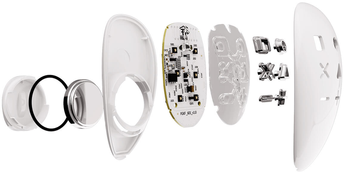 KeyFob - Zdalne sterowanie oświetleniem w domu – Bezprzewodowe sterowanie roletami
