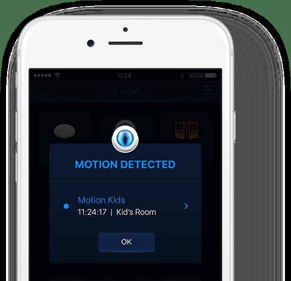 czujki ruchu kompatybilne z iphone