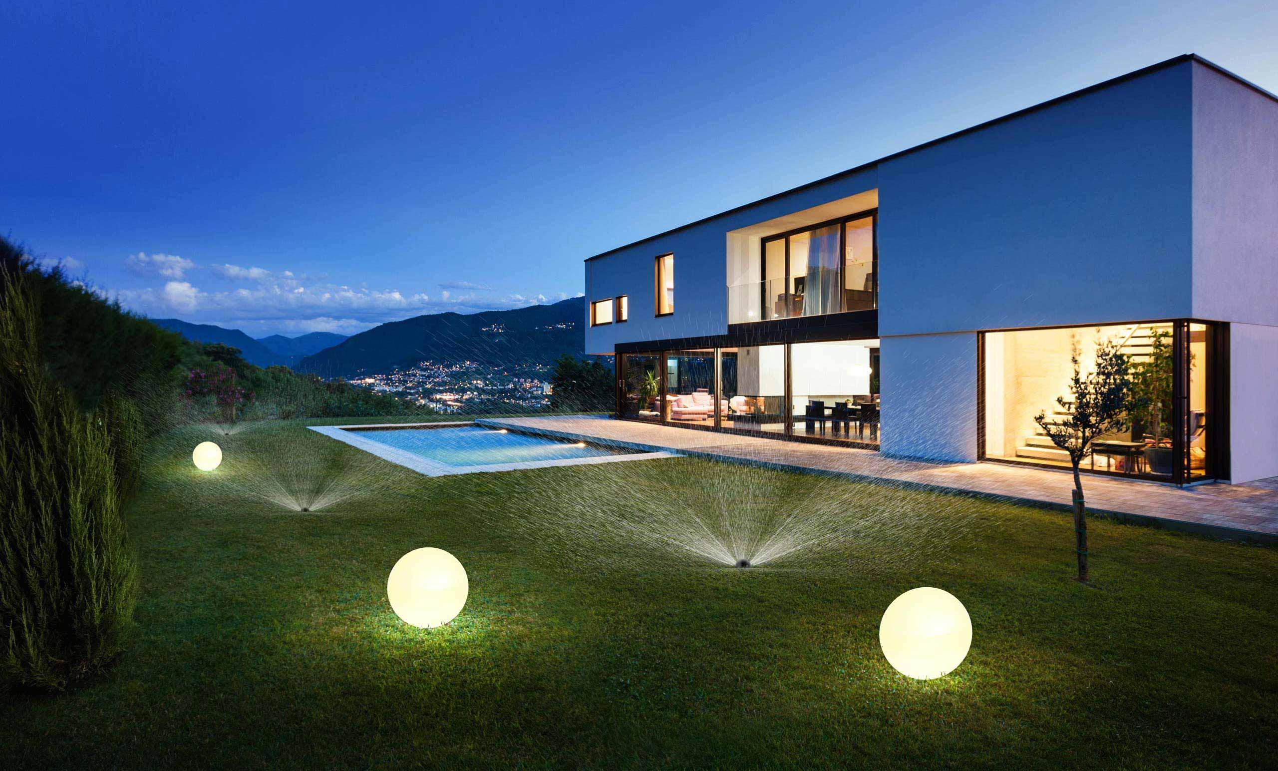 ogród smart home