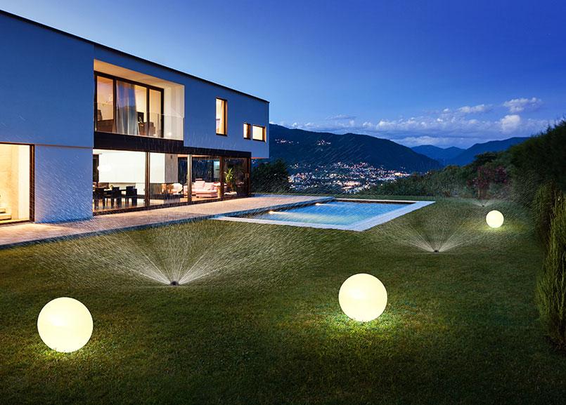 smart home ogród