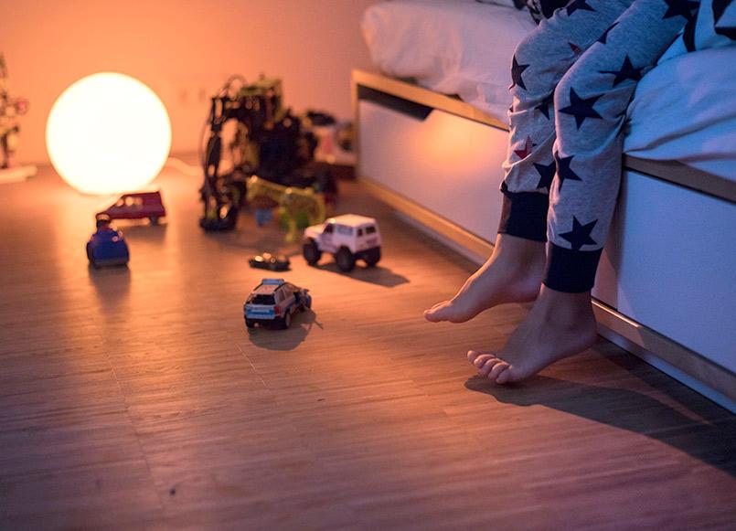 iluminat de casa inteligent