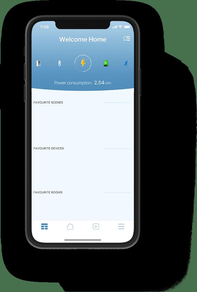 smart home mobil aplicație