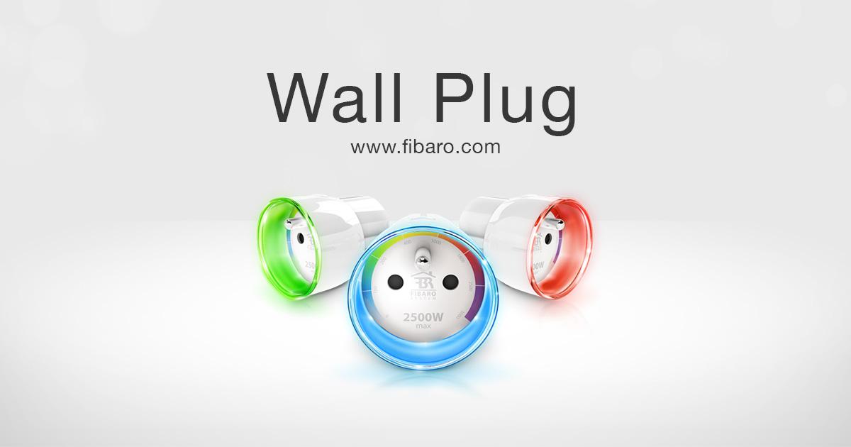 Умная розетка <b>Wall Plug</b> | FIBARO