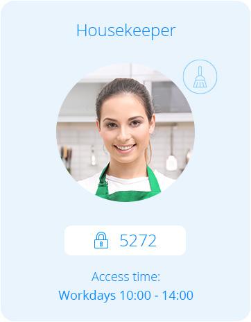 intercom för hushållerska