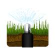 smart vattenspridare