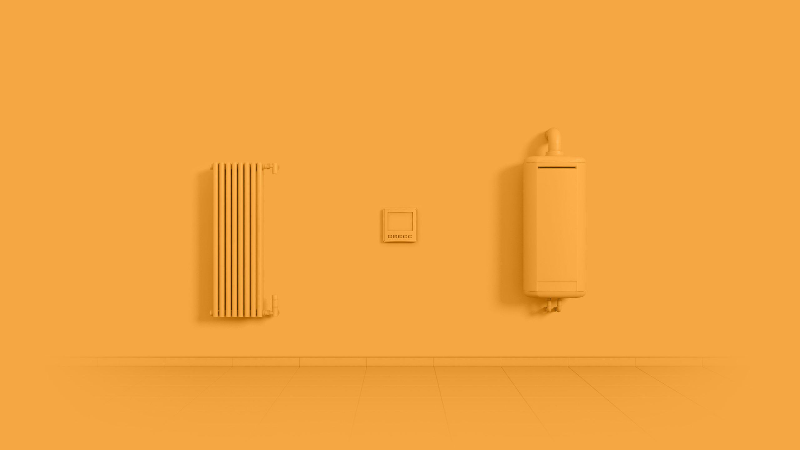 Smarta hem värmesystem