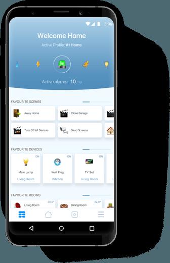 smarta hem Android App