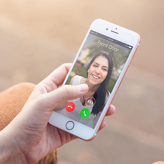 smart intercom doorbell